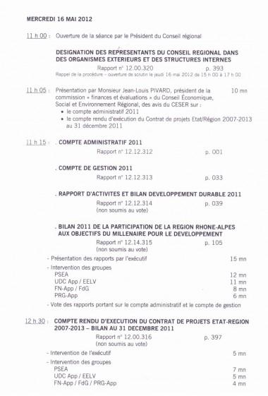 programme,session,region,mai,2012,conseil,regional
