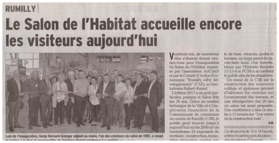 inauguration,habitat,rumilly