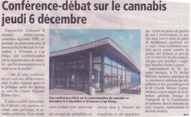 cannabis,depenalisation,conference,reunion,debat,decembre,2012,mallaret,merci,guyon,BA,medecin,